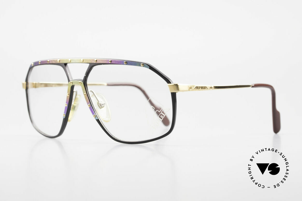 Alpina M6 Limited Titanium Edition 80's, West Germany sunglasses: made from 1987 to 1991, Made for Men and Women