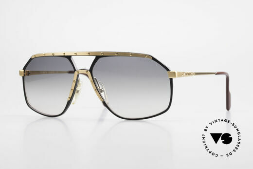 Alpina M6 True Vintage 80's Sunglasses Details