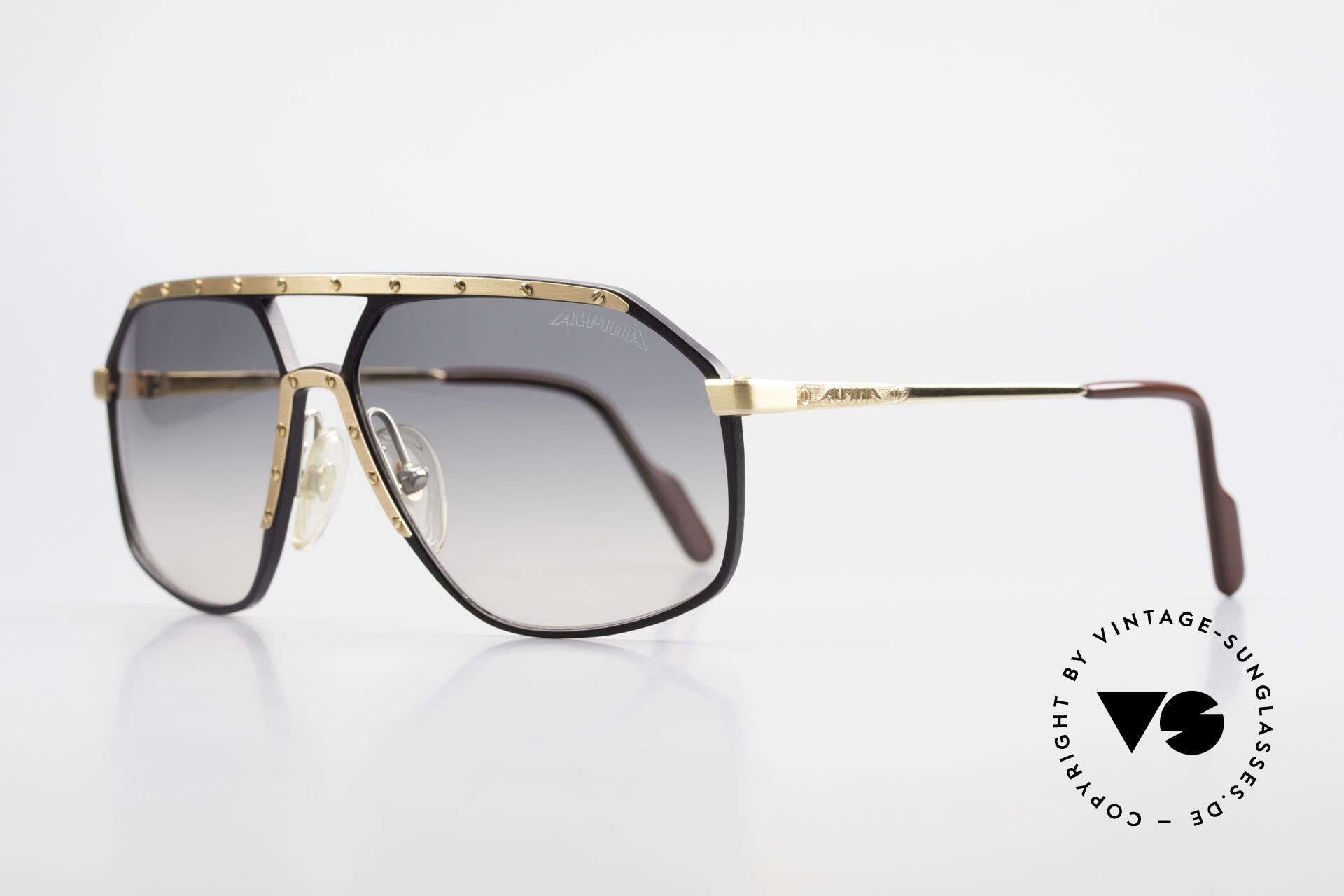 Alpina M6 True Vintage 80's Sunglasses, produced in many different variations; HANDMADE, Made for Men and Women