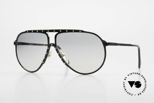 Alpina M1 Iconic Sunglasses of the 80's Details