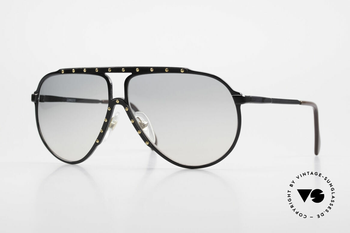 Alpina M1 Iconic Sunglasses of the 80's, 80's Alpina M1 iconic sunglasses in small size 60°12, Made for Men and Women