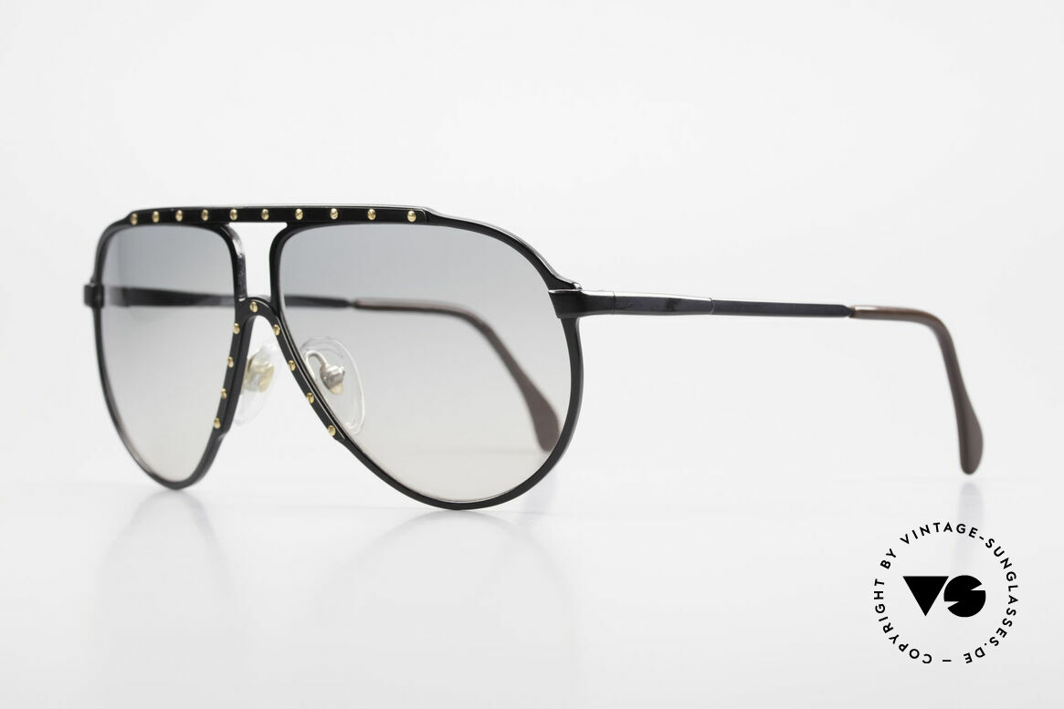 Alpina M1 Iconic Sunglasses of the 80's, top quality (handmade in W.Germany) + Bvlgari case, Made for Men and Women