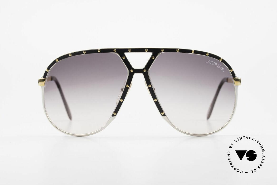 Alpina M1 Stevie Wonder 80's Sunglasses, M1 = the 80's bestseller sunglasses par excellence, Made for Men