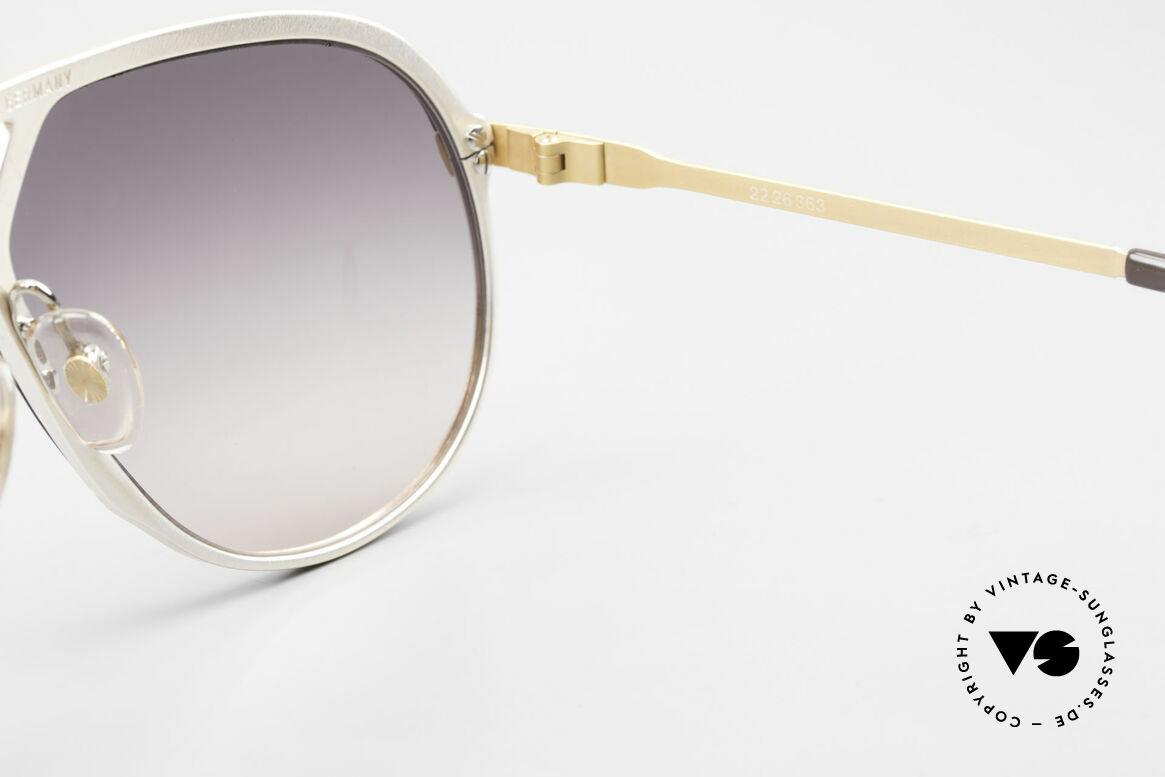 Alpina M1 Stevie Wonder 80's Sunglasses, Stevie Wonder made this model popular in the 80's, Made for Men