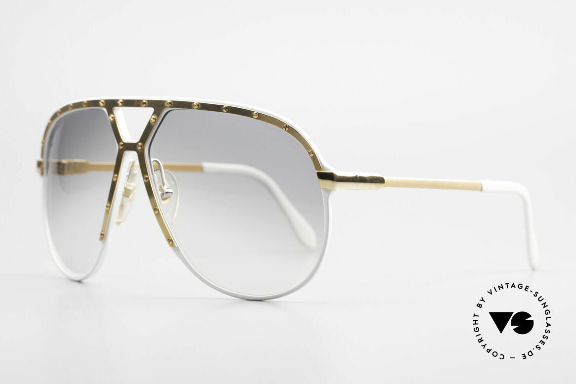 Alpina M1 Stevie Wonder Iconic Shades, ultra rare special edition: white & GOLD-plated, Made for Men