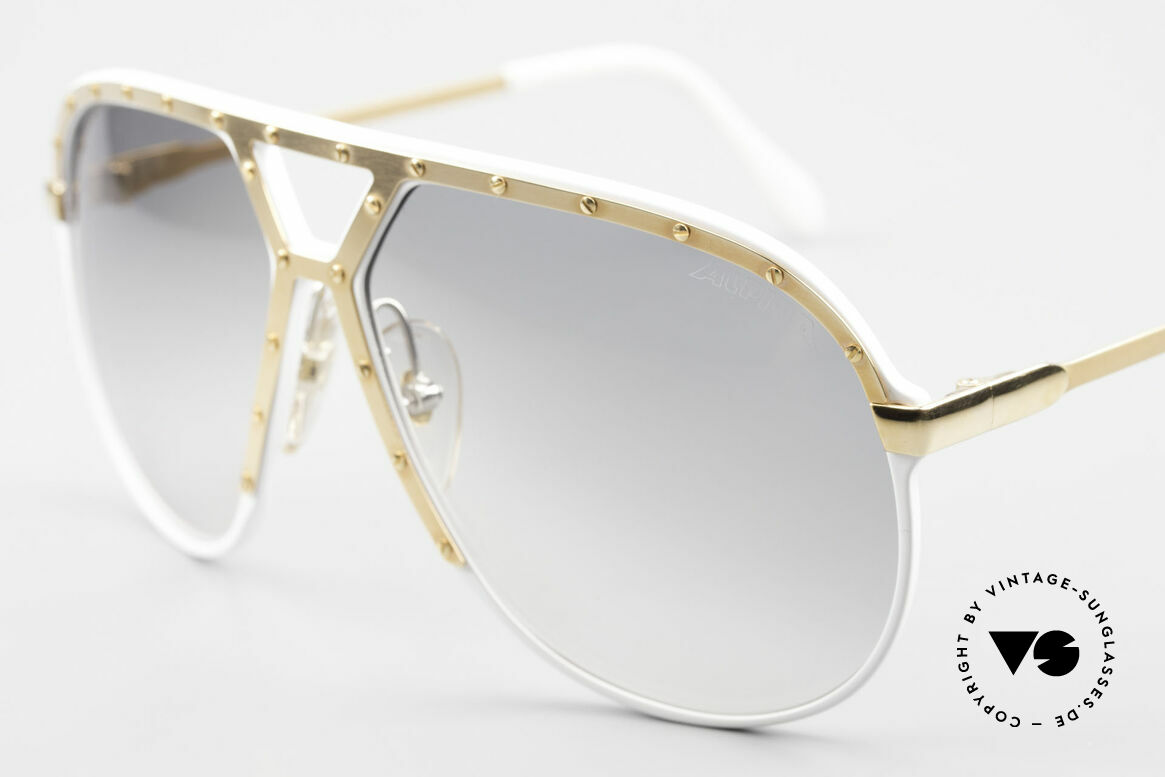 Alpina M1 Stevie Wonder Iconic Shades, golden ornamental cover with 24 golden screws!, Made for Men