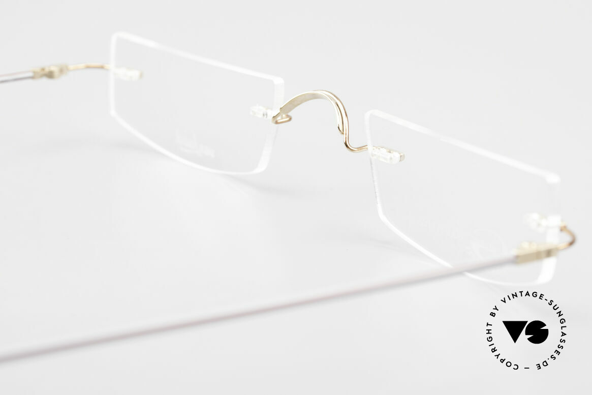 Van Laack L022 Minimalist Reading Eyeglasses, Size: medium, Made for Men and Women