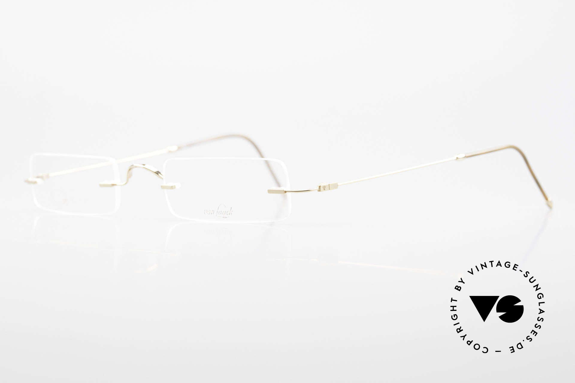 Van Laack L021 Minimalist Reading Glasses 90s, lightweight (8 gram only) & very pleasant to wear, Made for Men and Women