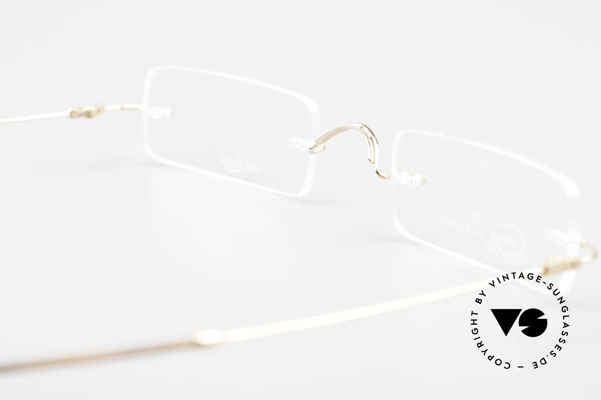 Van Laack L021 Minimalist Reading Glasses 90s, Size: medium, Made for Men and Women