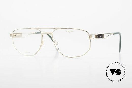 Longines 4555 90's Men's Glasses Pure Titan Details