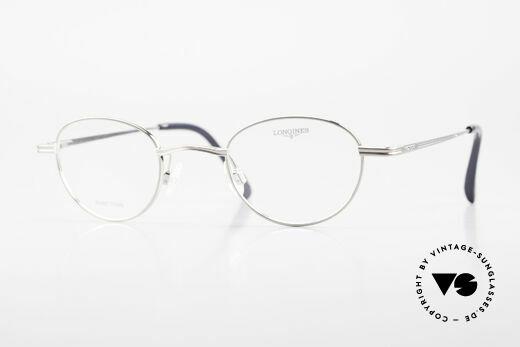 Longines 4268 90's Panto Glasses Pure Titan Details