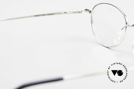 Longines 4268 90's Panto Glasses Pure Titan, NO RETRO fashion, but an app. 25 years old ORIGINAL!, Made for Men and Women