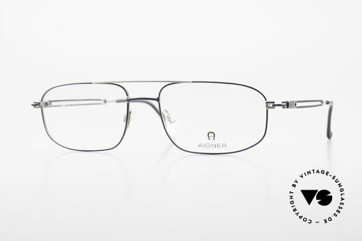 Aigner EA9111 90's Men's Eyeglasses Metal Details