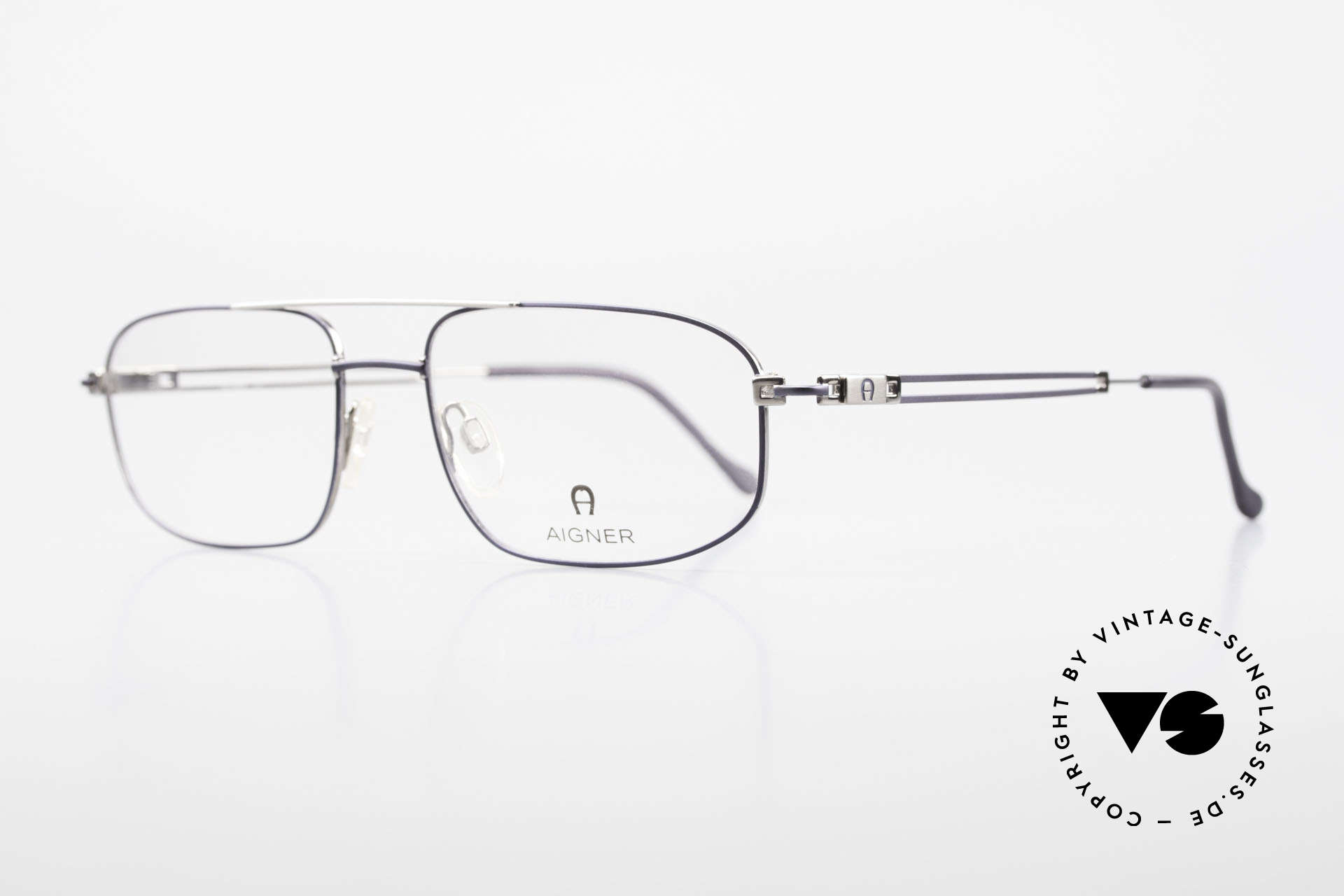 Aigner EA9111 90's Men's Eyeglasses Metal, top-notch quality and very pleasant to wear; lightweight, Made for Men