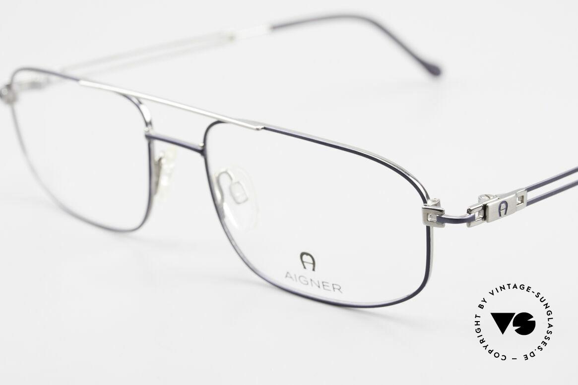 Aigner EA9111 90's Men's Eyeglasses Metal, never worn, NOS (like all our rare 90's men's eyeglasses), Made for Men