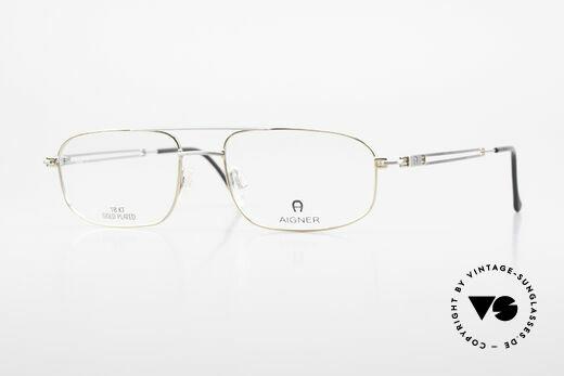 Aigner EA9111 90's Men's Frame Gold Plated Details