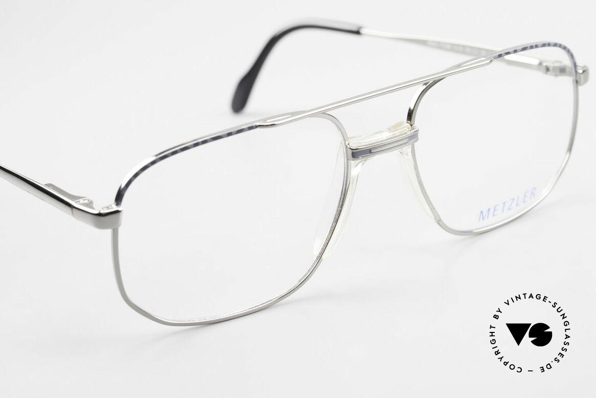 Metzler 7538 Metal Frame With Saddle Bridge, NO RETRO eyewear, but a 25 years old ORIGINAL, Made for Men
