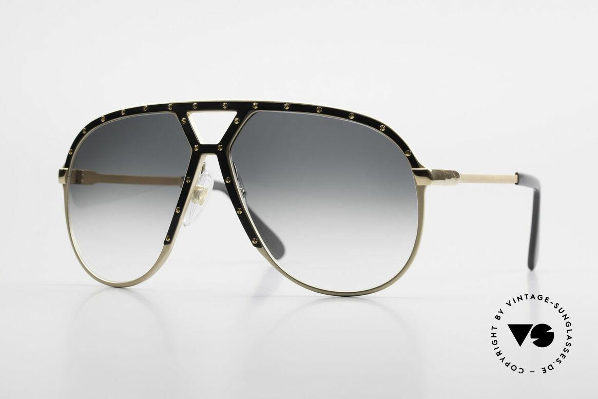 Alpina M1 Old 80's West Germany Shades, ultra rare Alpina M1 1980's Aviator sunglasses, Made for Men
