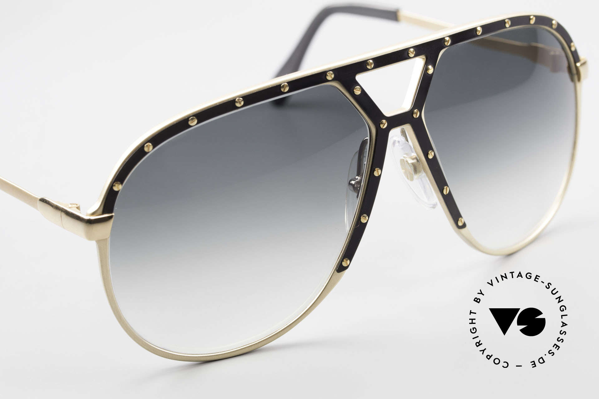 Alpina M1 Old 80's West Germany Shades, unworn collector's item comes with a Bvlgari case, Made for Men