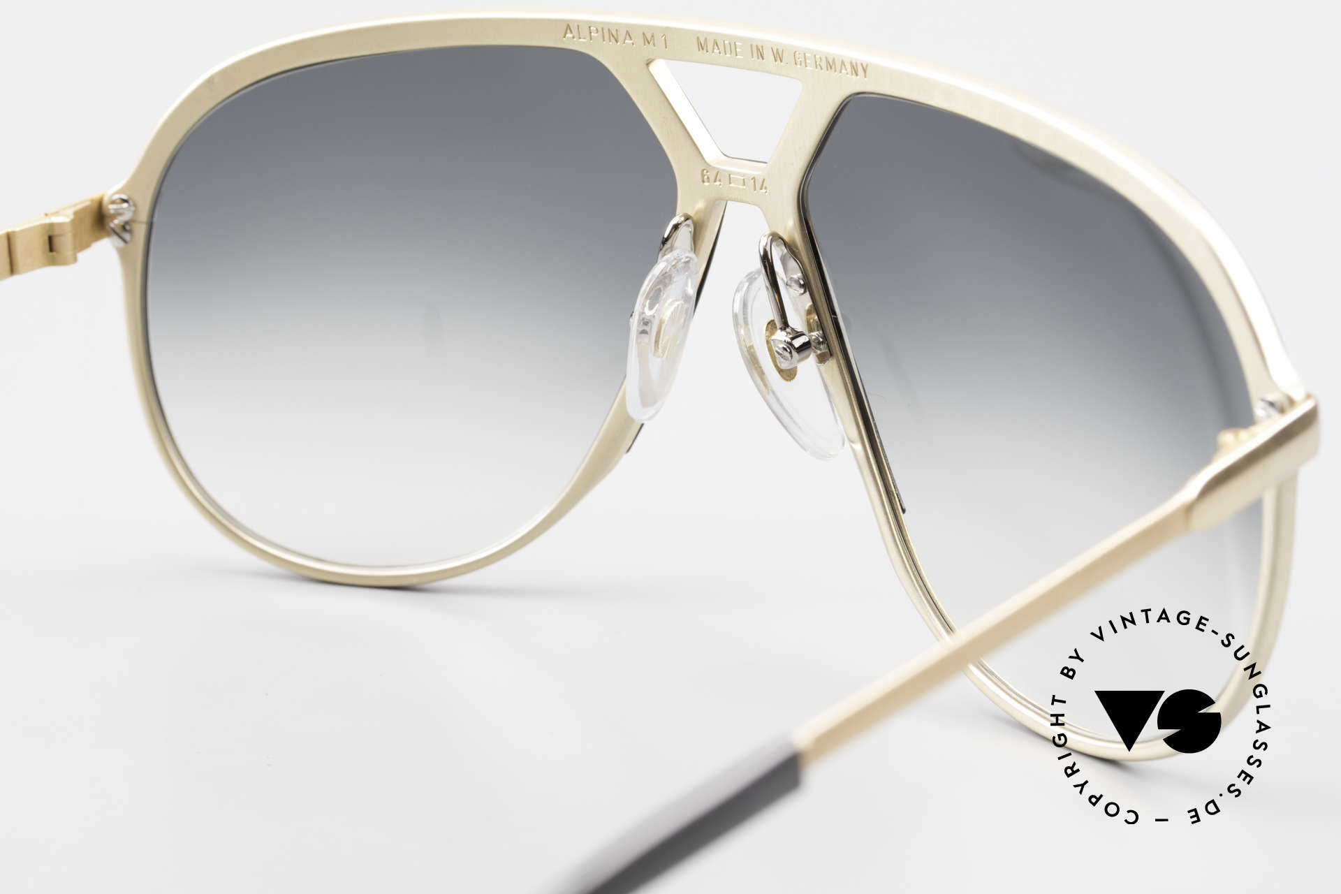Alpina M1 Old 80's West Germany Shades, NO RETRO SHADES, but the old legend from 1986, Made for Men