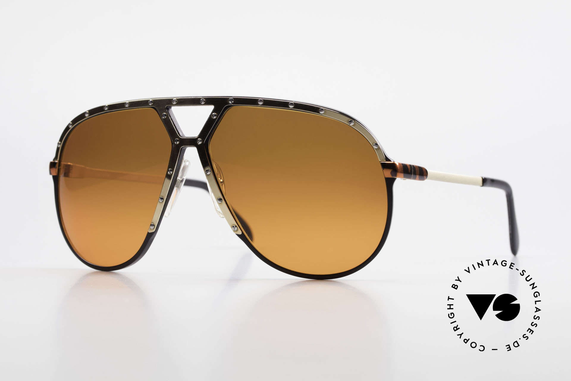 Alpina M1 80s Shades Customized Edition, customized Alpina M1 1980's Aviator sunglasses, Made for Men