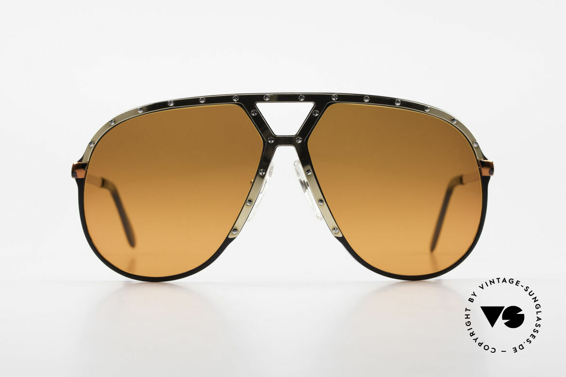 Alpina M1 80s Shades Customized Edition, already rare version in gold-tortoise-black-gold, Made for Men