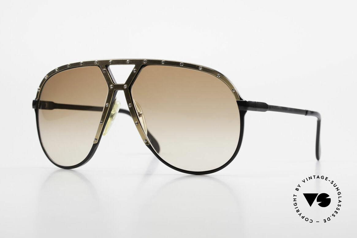 Alpina M1 Old 80's Frame No Retro Shades, very rare ALPINA M1 1980's Aviator sunglasses, Made for Men