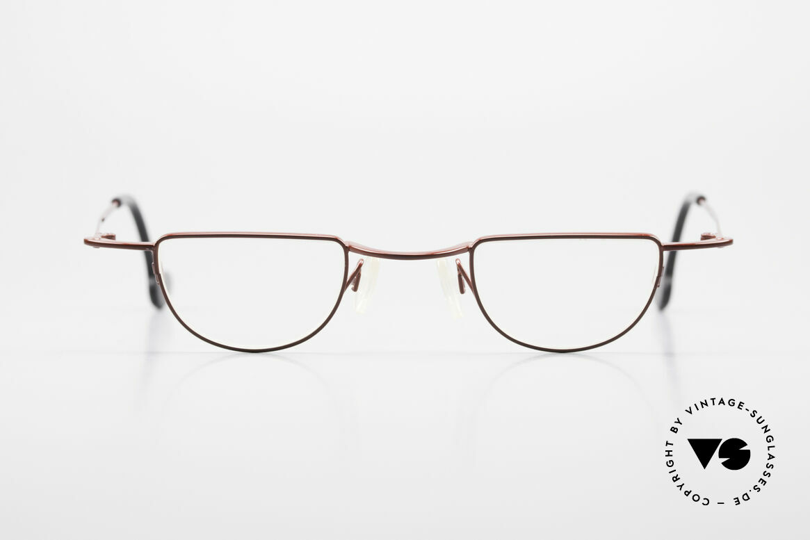 Theo Belgium Gordon Reading Glasses With Clip On, Size: medium, Made for Men and Women