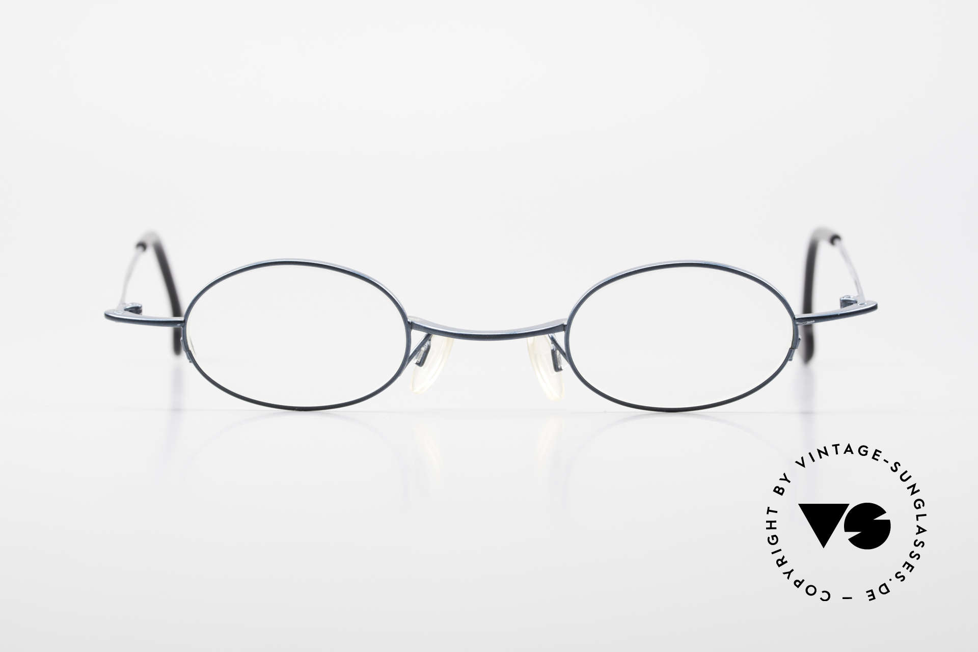 Theo Belgium Peter Oval Eyeglasses With Clip On, Size: medium, Made for Men and Women