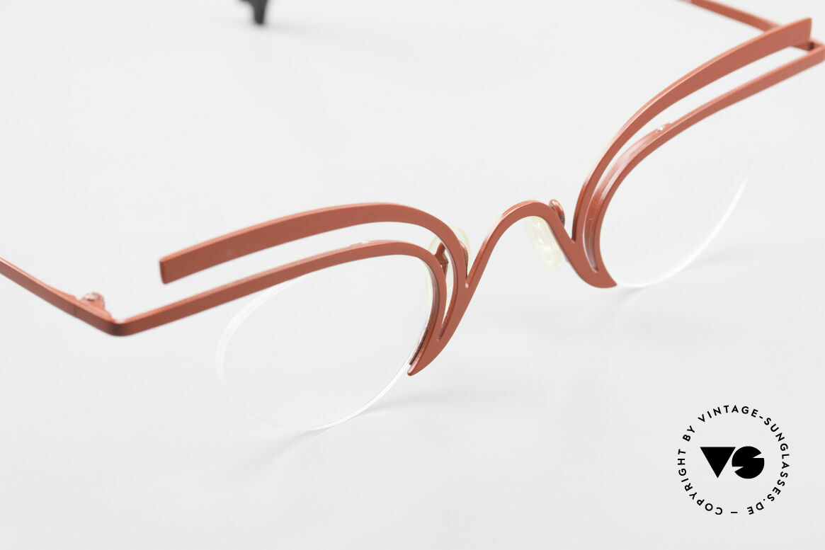 Theo Belgium Fly Crazy Vintage Ladies Glasses, clear DEMO lenses can be replaced with prescriptions, Made for Women