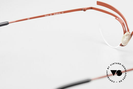 Theo Belgium Fly Crazy Vintage Ladies Glasses, NO RETRO EYEWEAR, but a 25 years old Theo original, Made for Women