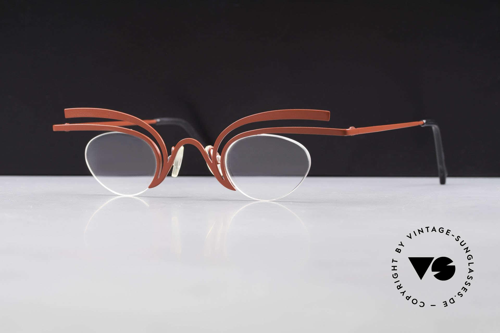 Theo Belgium Fly Crazy Vintage Ladies Glasses, Size: medium, Made for Women
