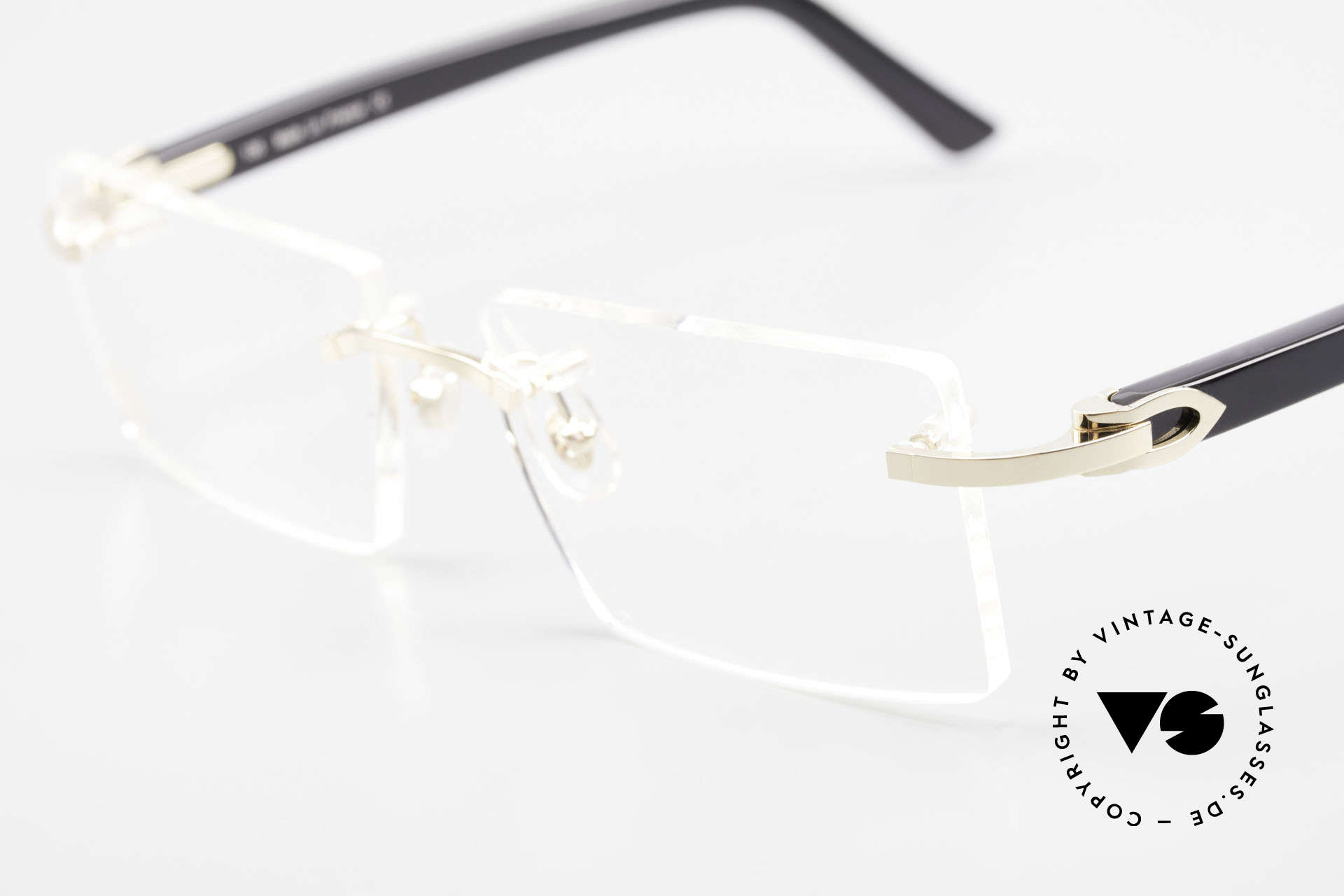Cartier Canazei Rimless Luxury Frame Square, unworn luxury specs with original case and packing, Made for Men and Women