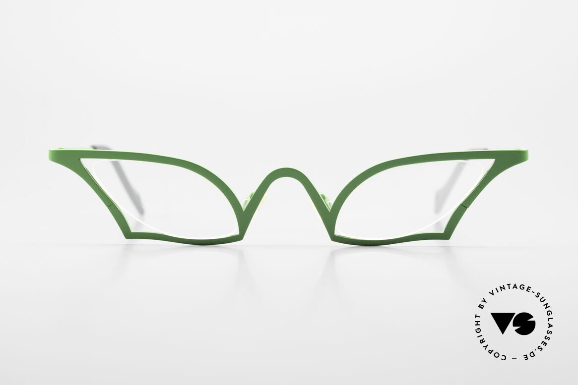 Theo Belgium James Cateye Crazy Reading Glasses, enchanting ladies glasses; full of verve; fancy rarity, Made for Women