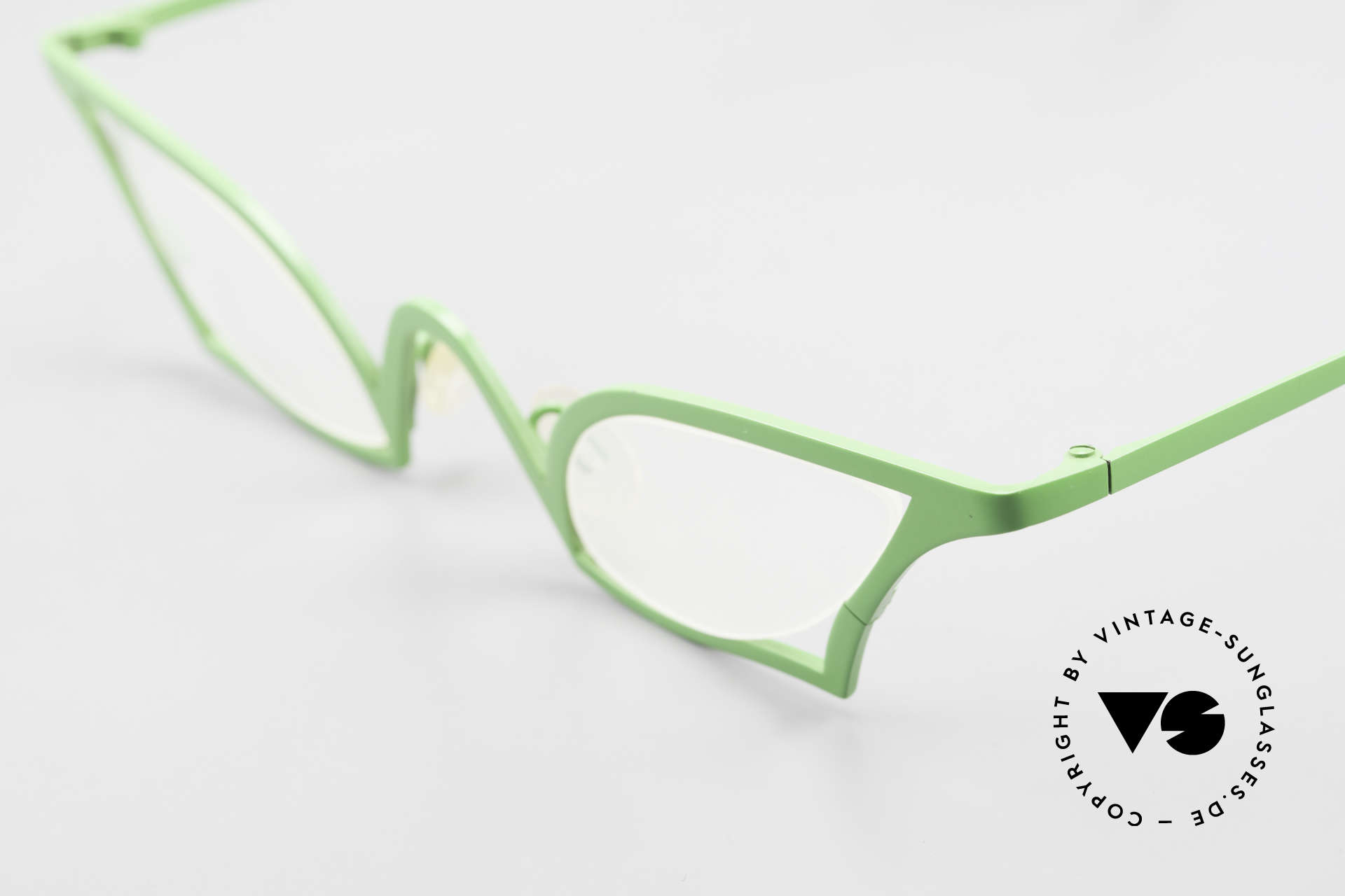 Theo Belgium James Cateye Crazy Reading Glasses, unworn (like all our vintage designer specs by THEO), Made for Women