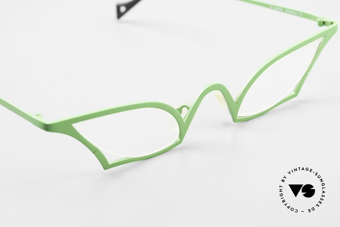 Theo Belgium James Cateye Crazy Reading Glasses, the DEMO lenses should be replaced with prescriptions, Made for Women