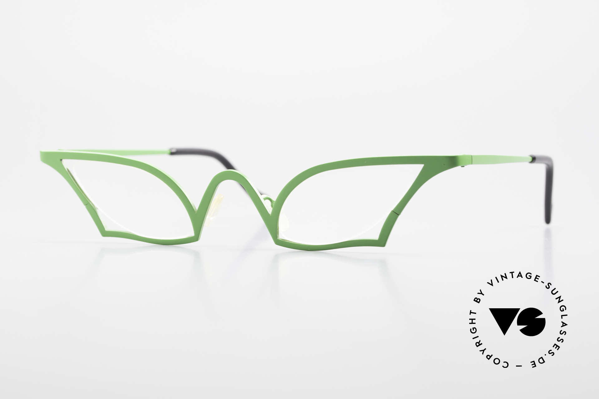 Theo Belgium James Cateye Crazy Reading Glasses, Size: large, Made for Women