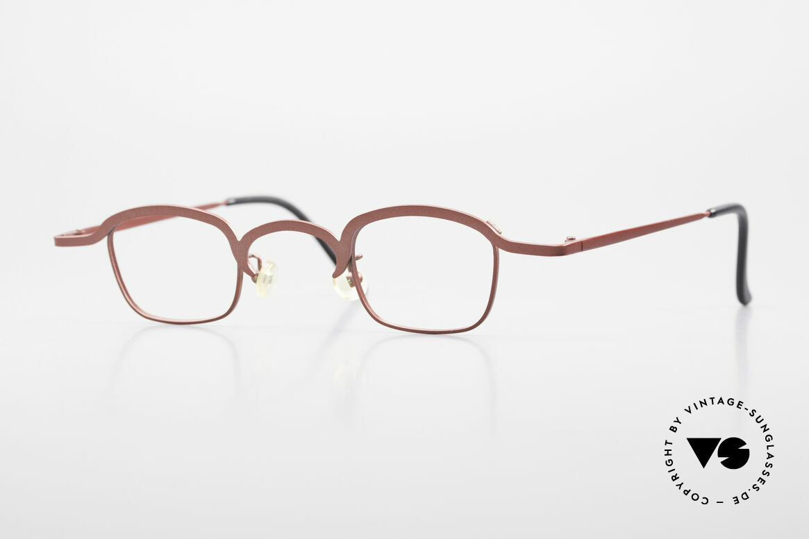 Theo Belgium Armes Full Rim Metal Frame Unisex, vintage THEO Belgium eyeglass-frame from the late 90's, Made for Men and Women