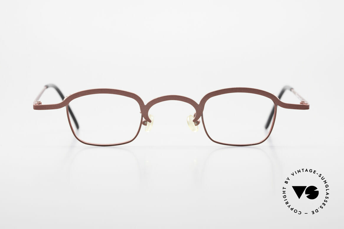 Theo Belgium Armes Full Rim Metal Frame Unisex, made for the avant-garde, individualists & trend-setters, Made for Men and Women