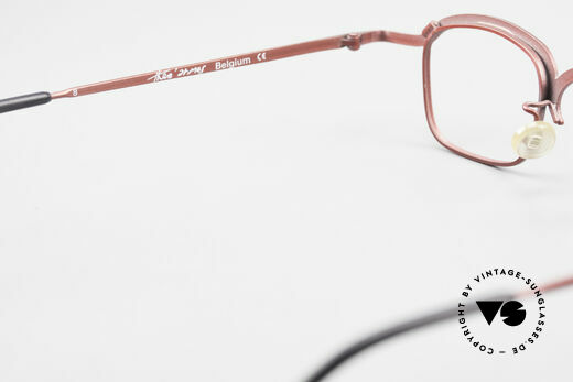Theo Belgium Armes Full Rim Metal Frame Unisex, NO RETRO eyewear, but a 25 years old Theo ORIGINAL!, Made for Men and Women
