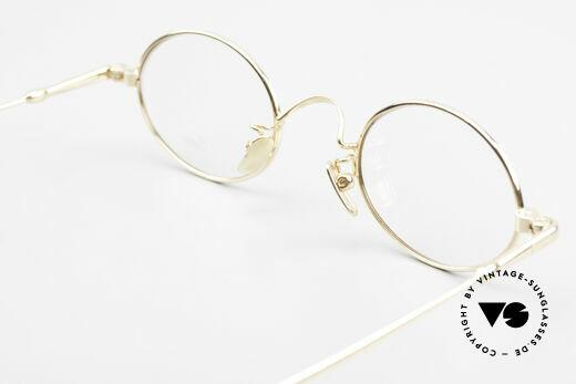 Lunor V 100 Oval Vintage Glasses Bicolor, Size: medium, Made for Men and Women