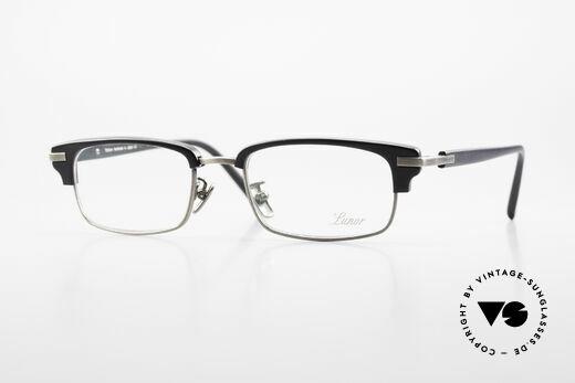 Lunor Combi II Mod 80 Combi Titanium Eyeglasses Details
