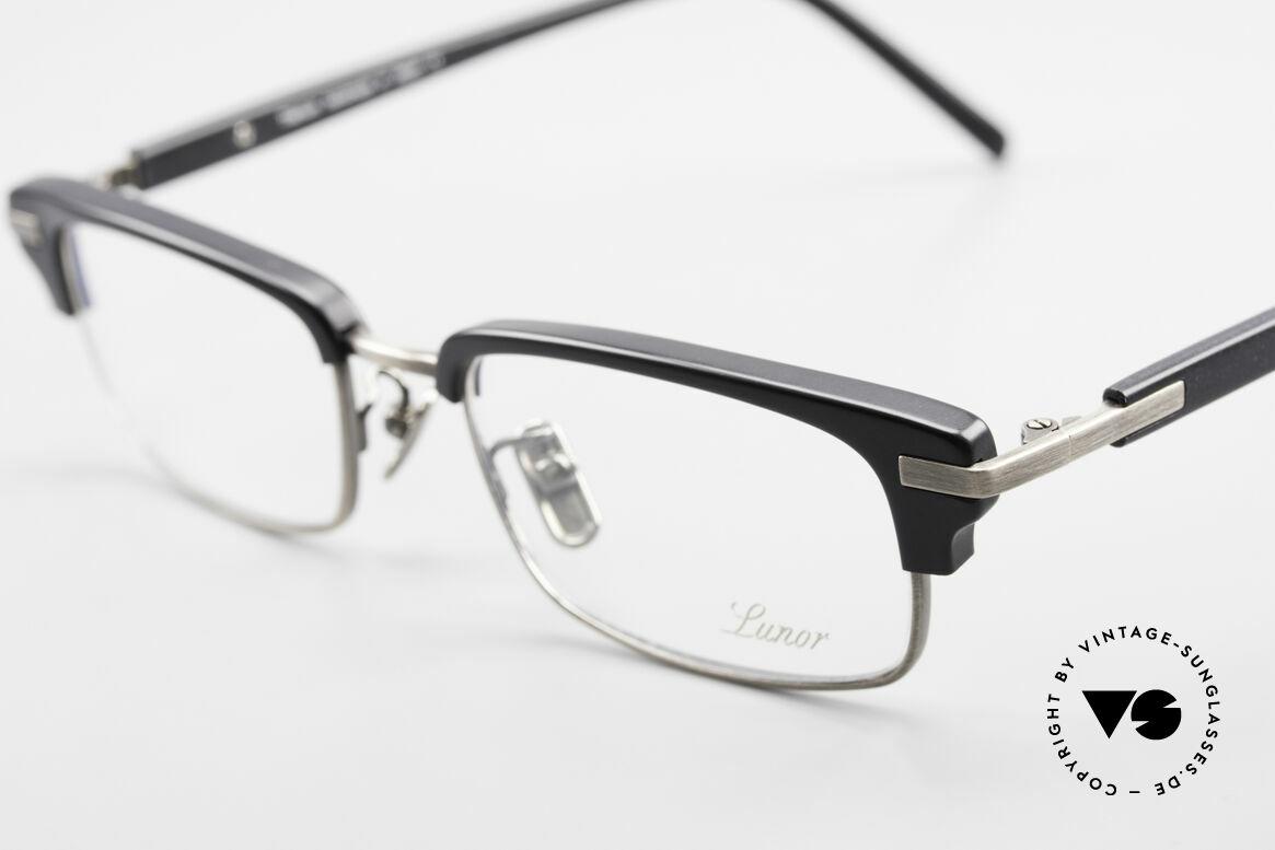 Lunor Combi II Mod 80 Combi Titanium Eyeglasses, unworn (like all our luxury eyeglass-frames by LUNOR), Made for Men and Women