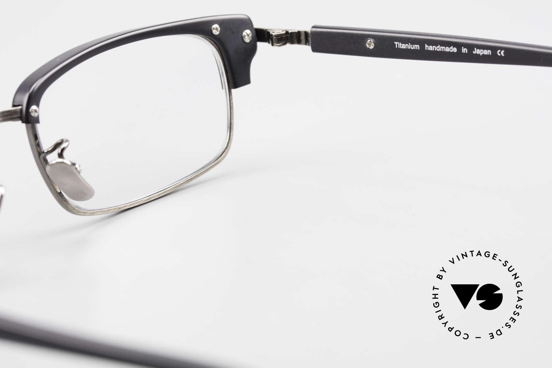 Lunor Combi II Mod 80 Combi Titanium Eyeglasses, Size: medium, Made for Men and Women