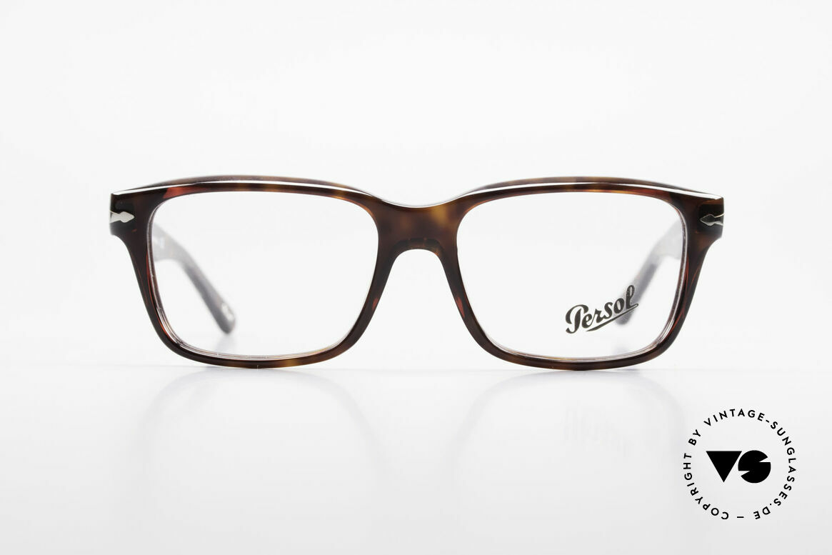 Persol 2895 Classic Timeless Unisex Frame, Persol eyeglasses, unisex model 2895, size 54/16, Made for Men and Women