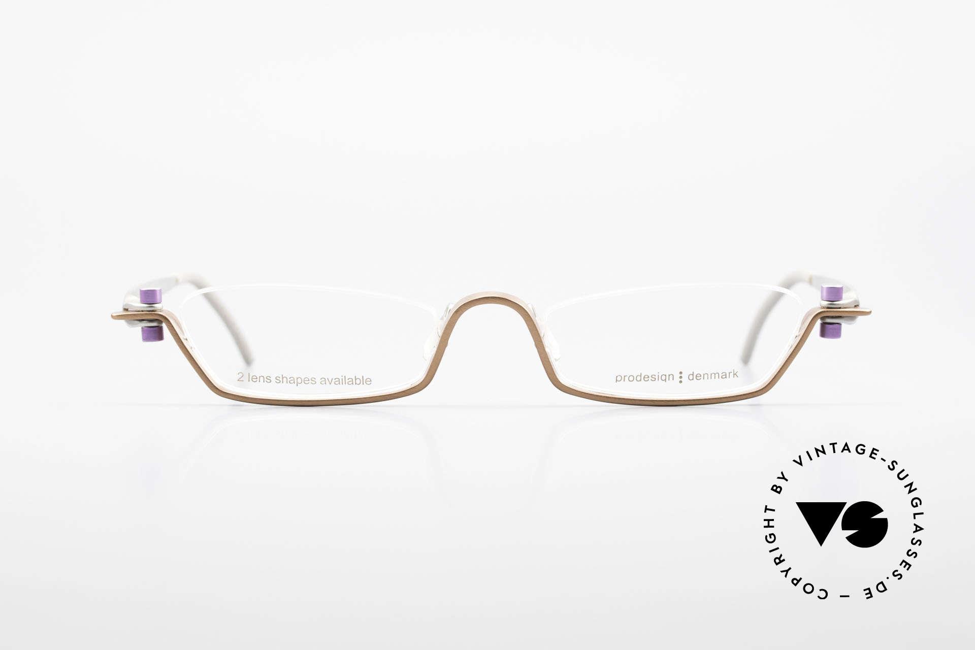 ProDesign 9901 Gail Spence Design Eyeglasses, true vintage aluminium frame - Gail Spence Design, Made for Men and Women