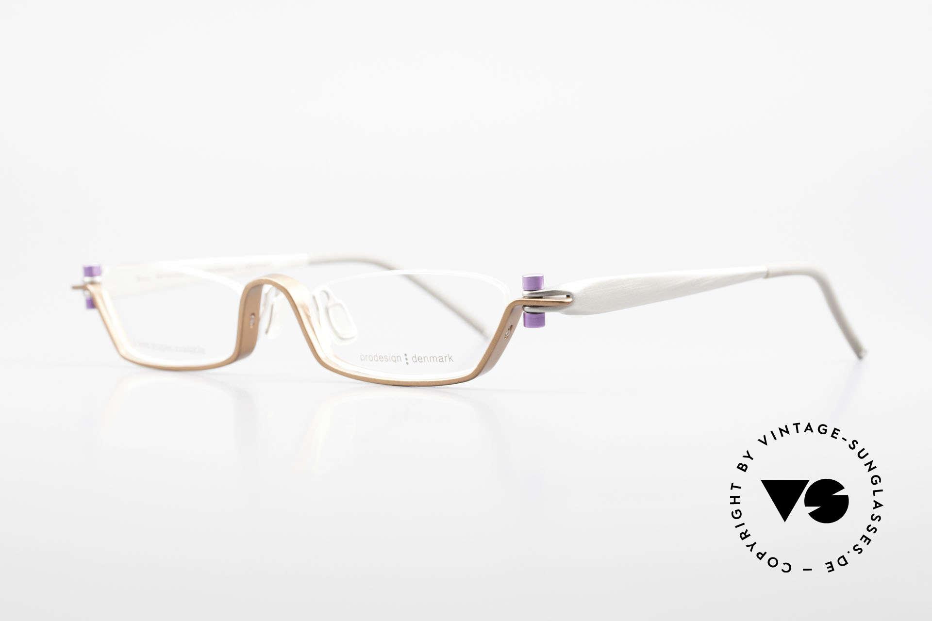 ProDesign 9901 Gail Spence Design Eyeglasses, successor of the legendary Pro Design N° ONE model, Made for Men and Women
