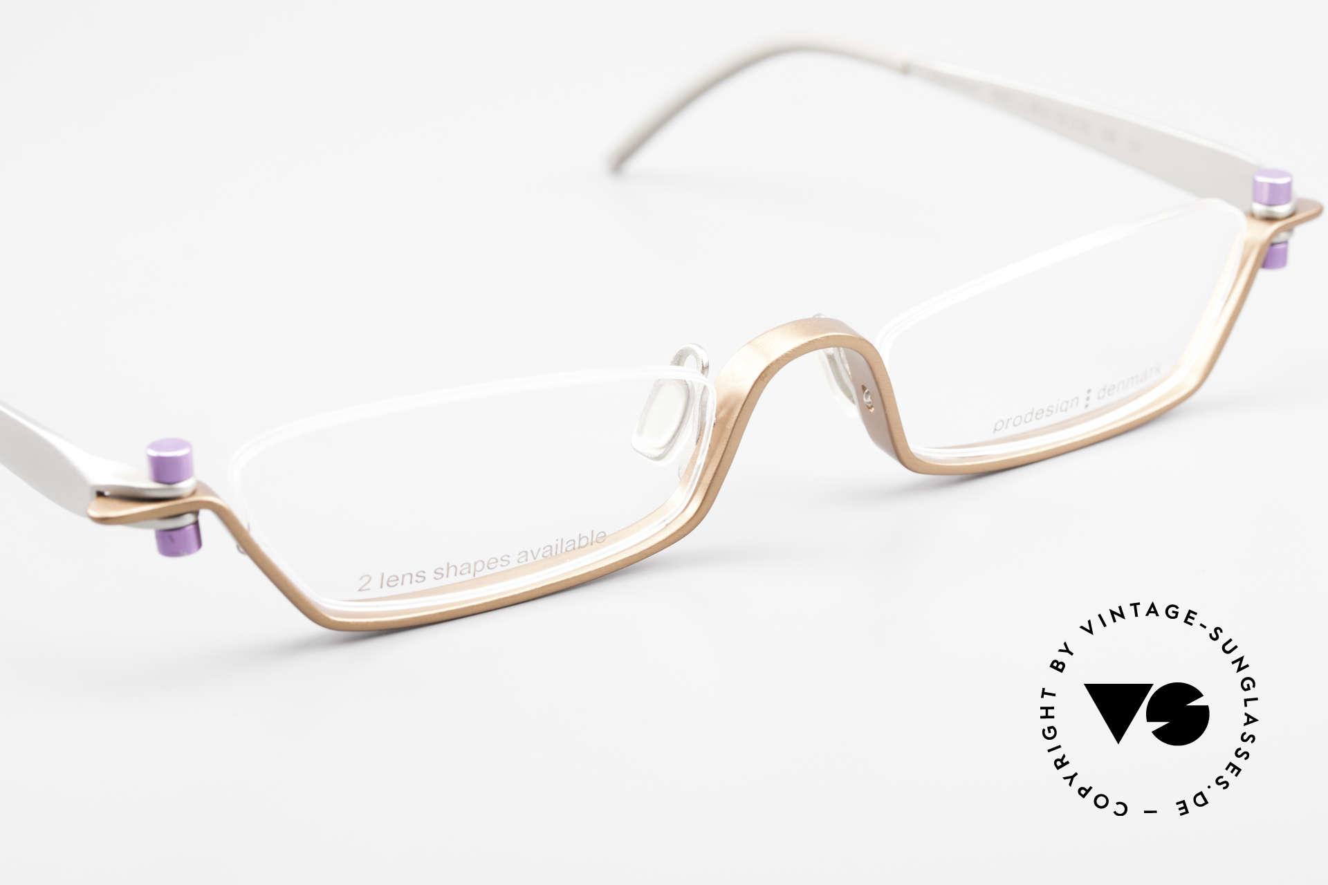 ProDesign 9901 Gail Spence Design Eyeglasses, unworn single item (like all our famous movie specs), Made for Men and Women