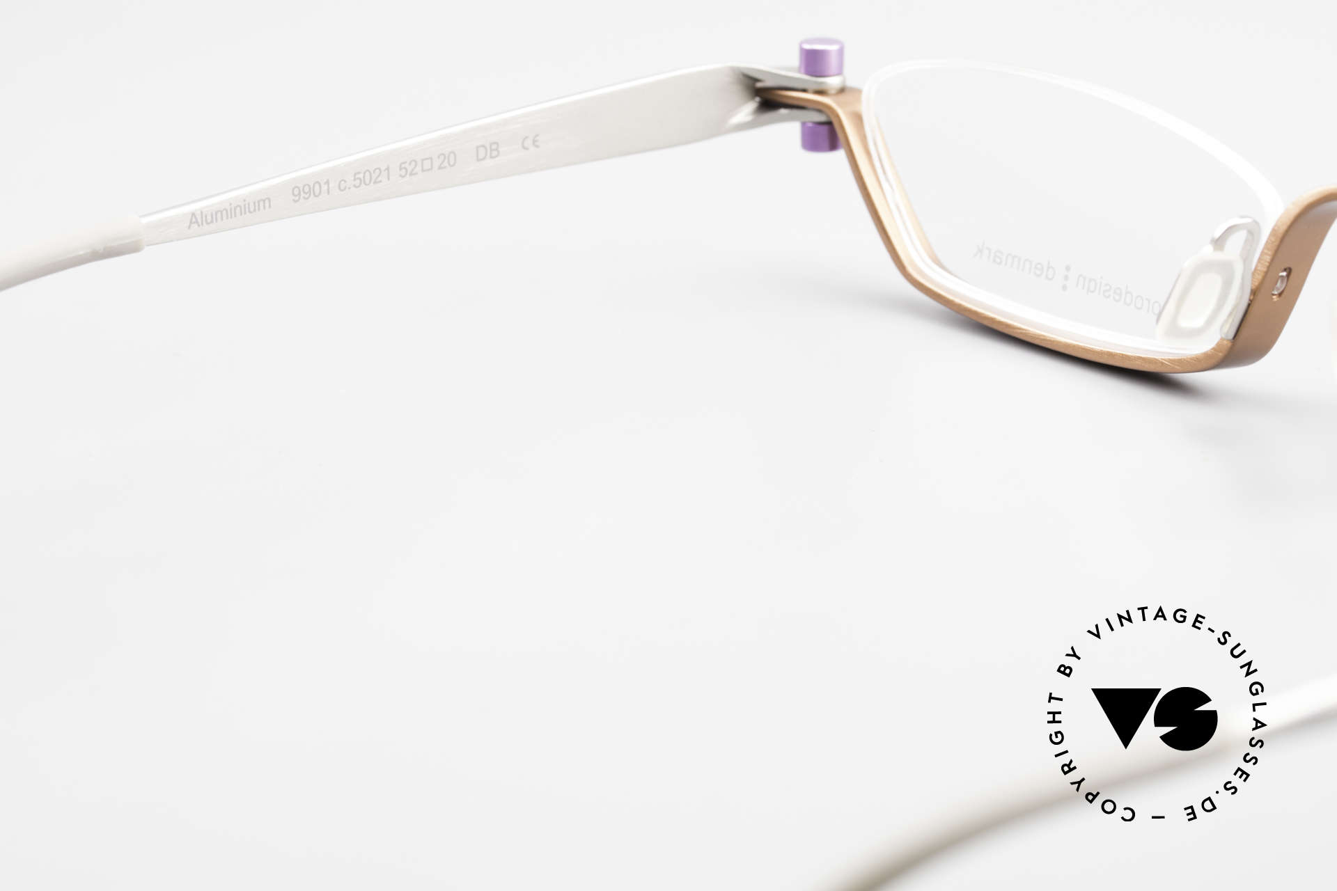 ProDesign 9901 Gail Spence Design Eyeglasses, with original clear DEMO lenses and Pro Design case, Made for Men and Women