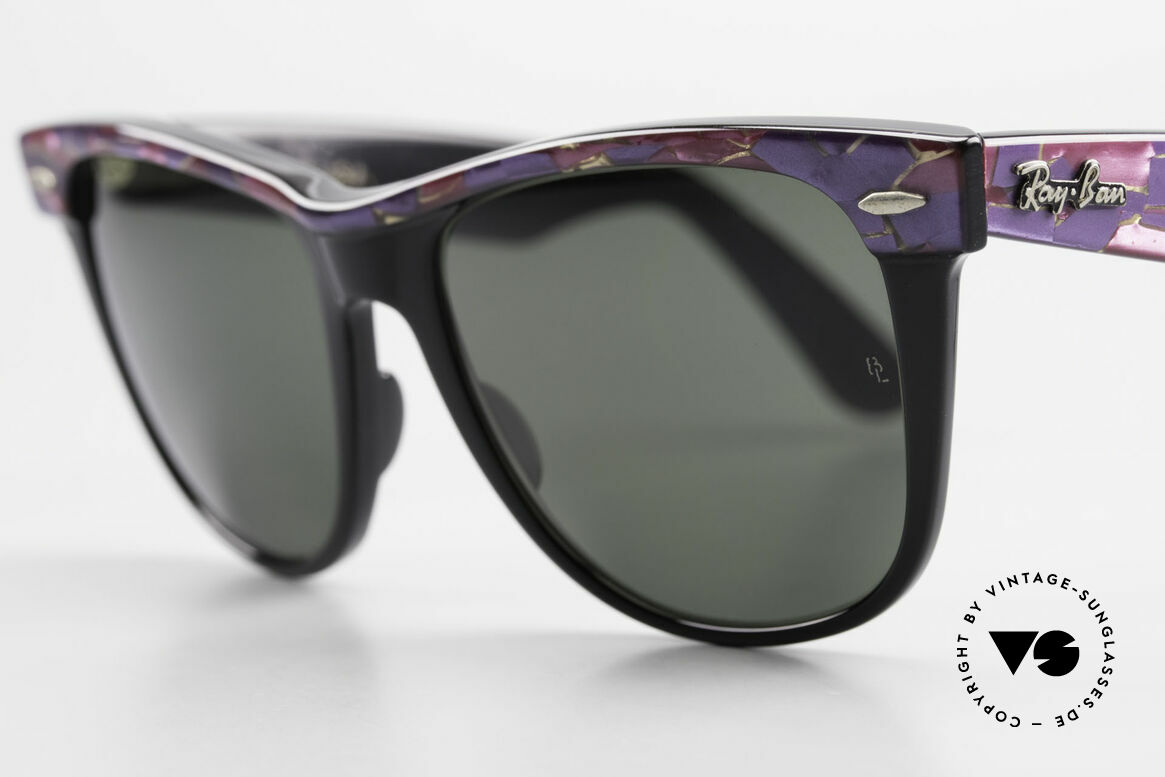 Ray Ban Wayfarer II Original Mosaic Wayfarer B&L, never worn (like all our old B&L RAY-BAN shades), Made for Men and Women